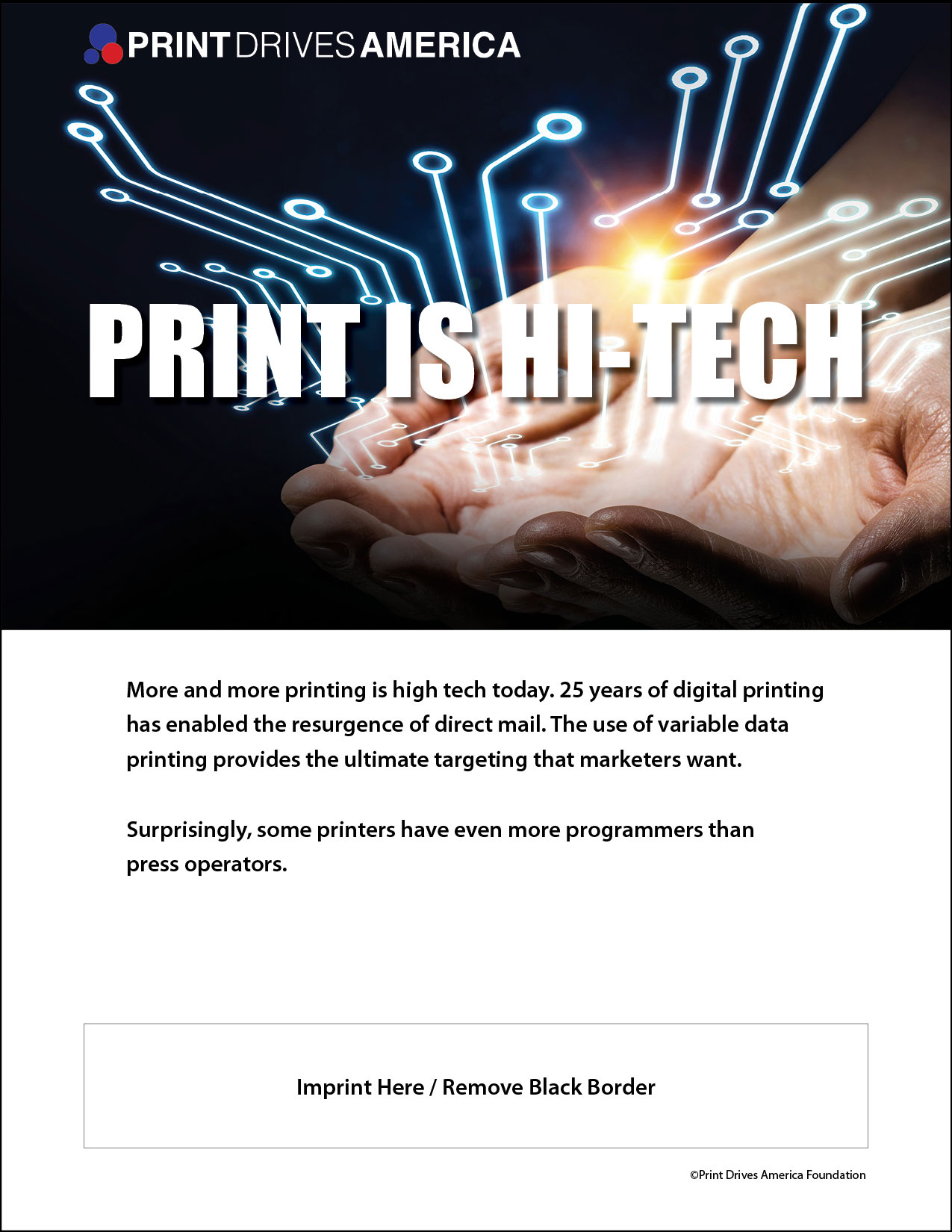 Print is Hi-Tech
